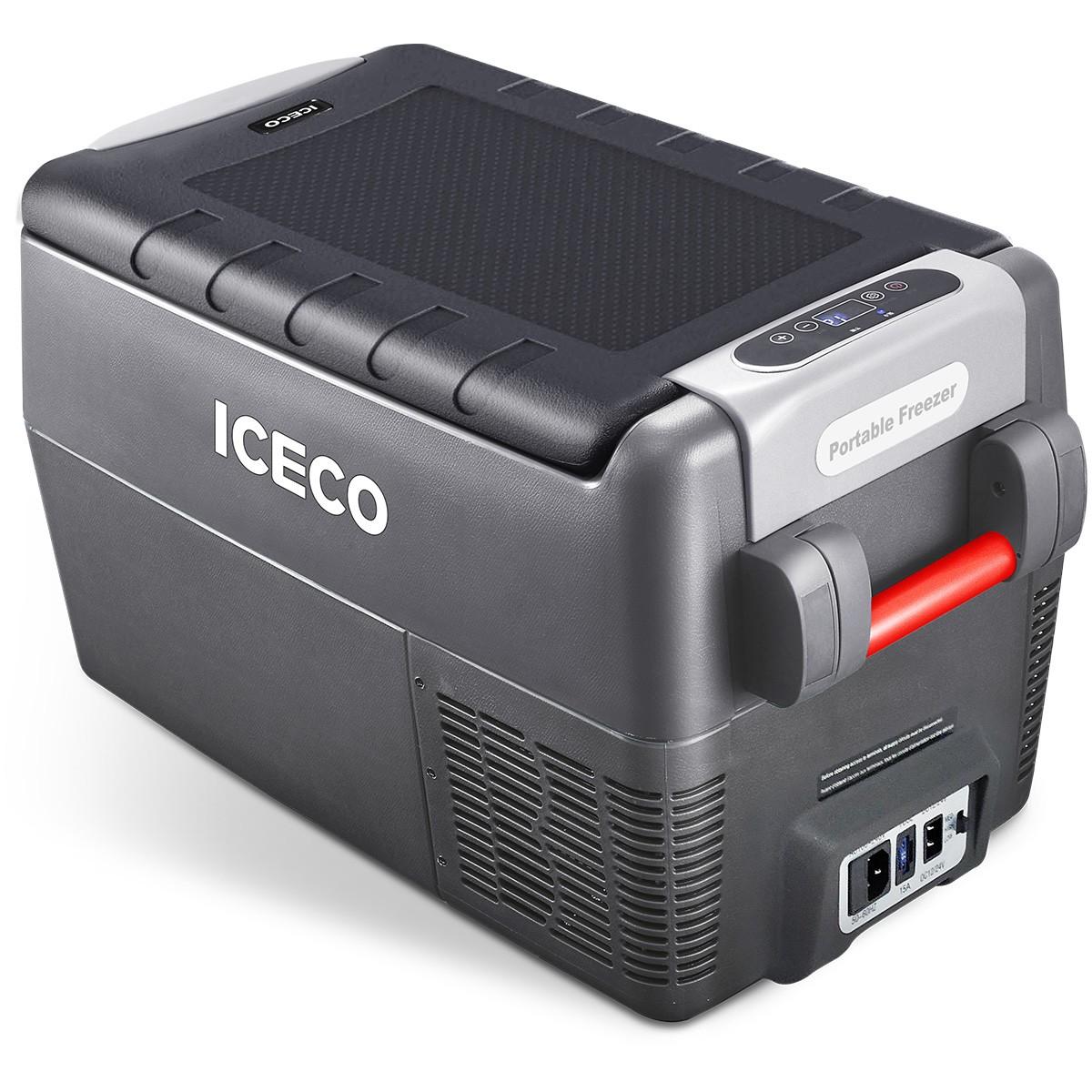 YCD31G(AC+DC)-IMD,深灰箱体/BD35F+101N0510,12V蓝灯/新后罩,带美式交流线/2.5米直流线/3.5米直流电源延长线/复位拉手/套袋/干燥剂,袋子带警示语/设置华氏温度,(美国亚马逊,ICECO)箱体丝印