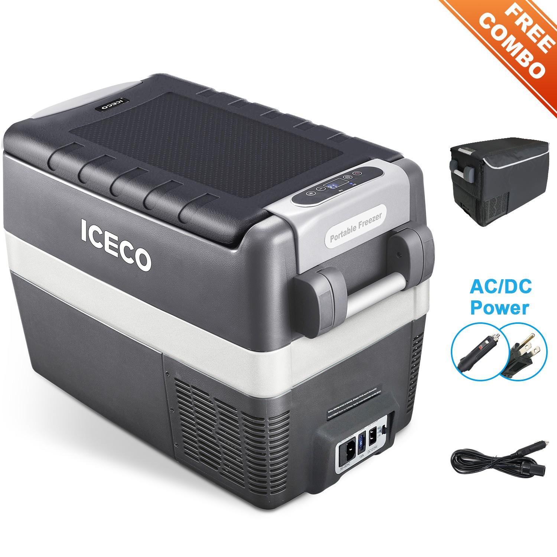 YCD40G(AC+DC)-IMD,深灰箱体/浅灰围框/BD35F+101N0510,12V蓝灯/新后罩,带美式交流线/2.54米直流线/3.5米直流电源延长线/复位拉手/套袋/干燥剂,袋子带警示语/设置华氏温度,(美国亚马逊,ICECO)箱体丝印