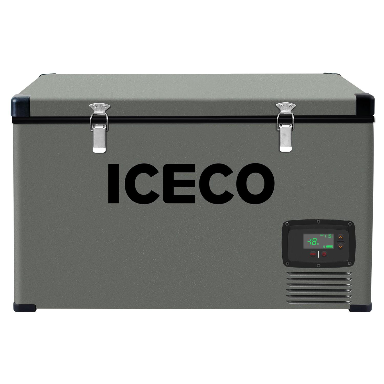 YCD74(AC+DC),BD50F/101N0510,12V白灯/液晶屏,带美式交流线/2.5米直流线/干燥剂,袋子带警示语/设置华氏温度,(美国亚马逊,ICECO)箱体丝印